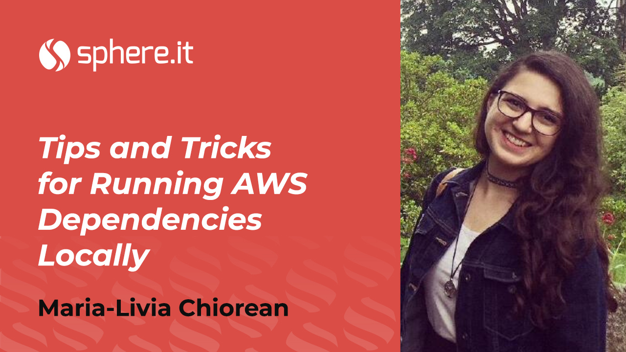 Tips and Tricks for Running AWS Dependencies Locally
