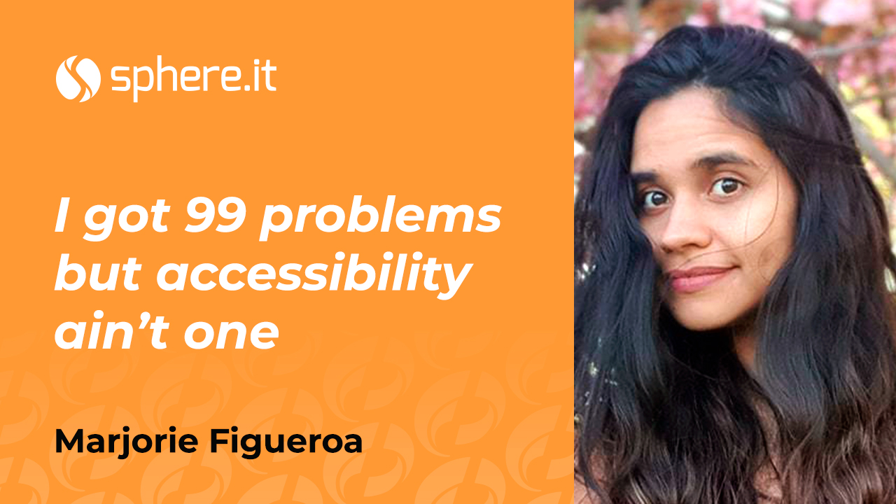 I got 99 problems but accessibility ain't one